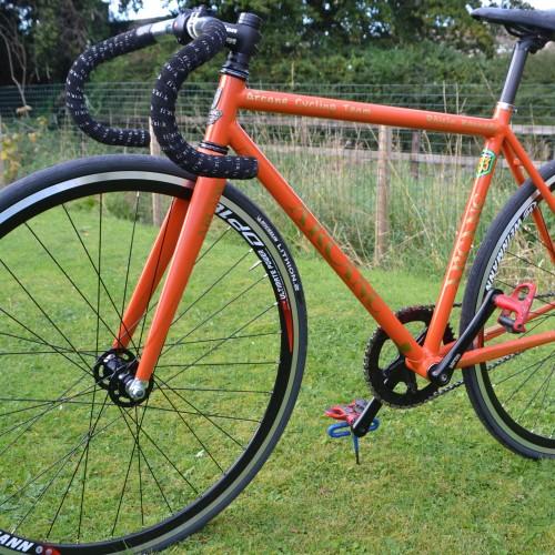 Arcane Custom WSD Track Bike