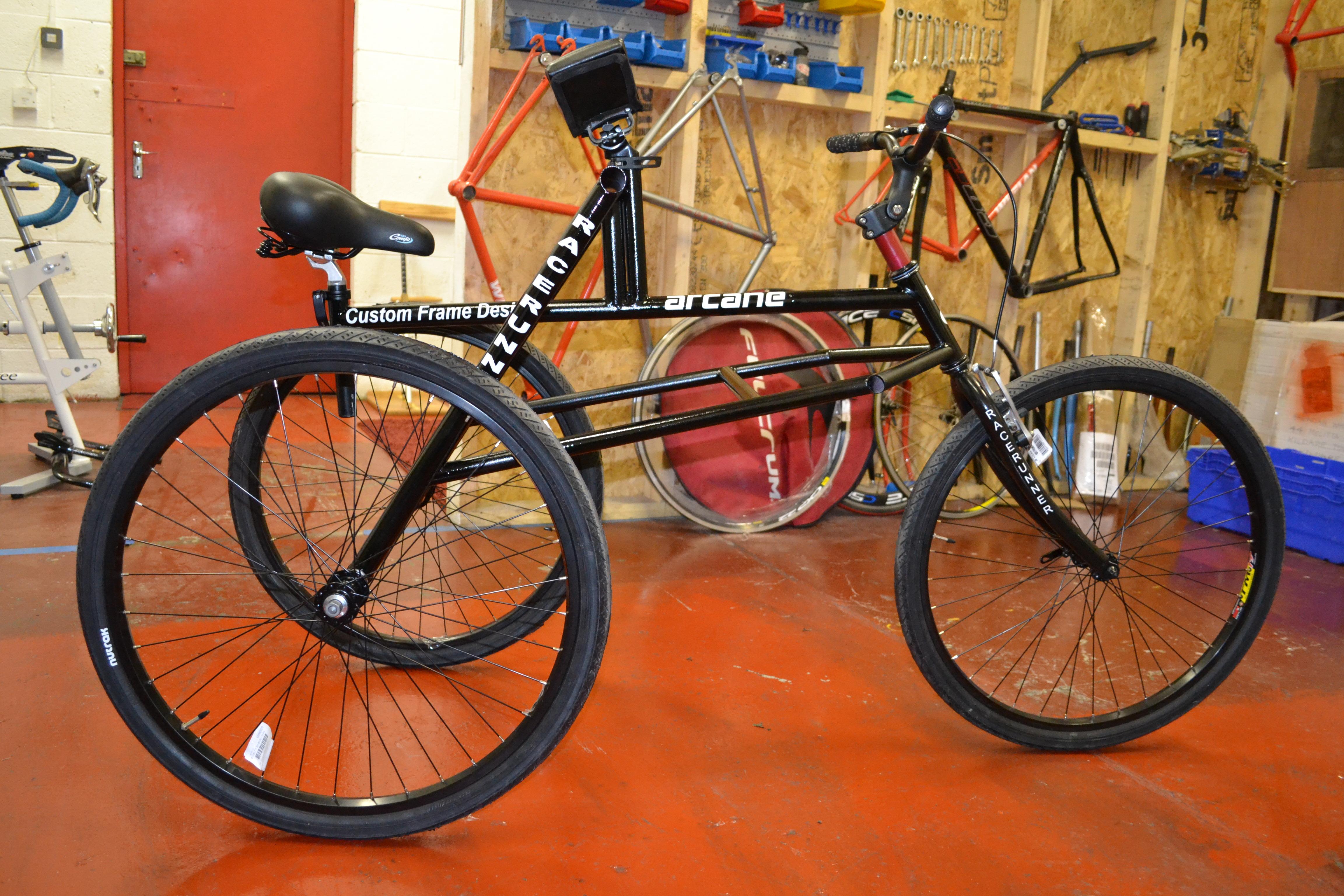 Arcane Custom Steel RaceRunner