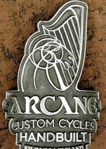 Arcane Head Tube Badge